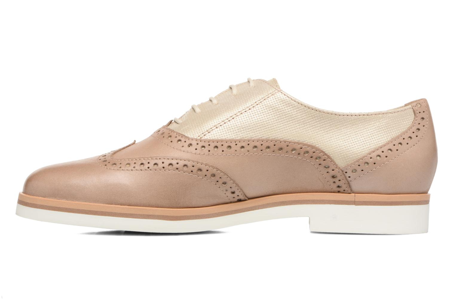 Lace-up shoes Geox D JANALEE G D725AG Bronze and Gold front view