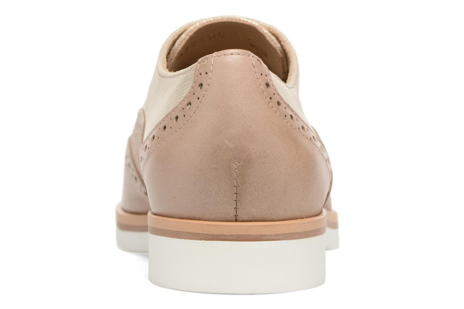 Lace-up shoes Geox D JANALEE G D725AG Bronze and Gold view from the right