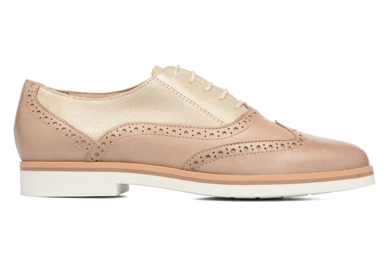Lace-up shoes Geox D JANALEE G D725AG Bronze and Gold back view