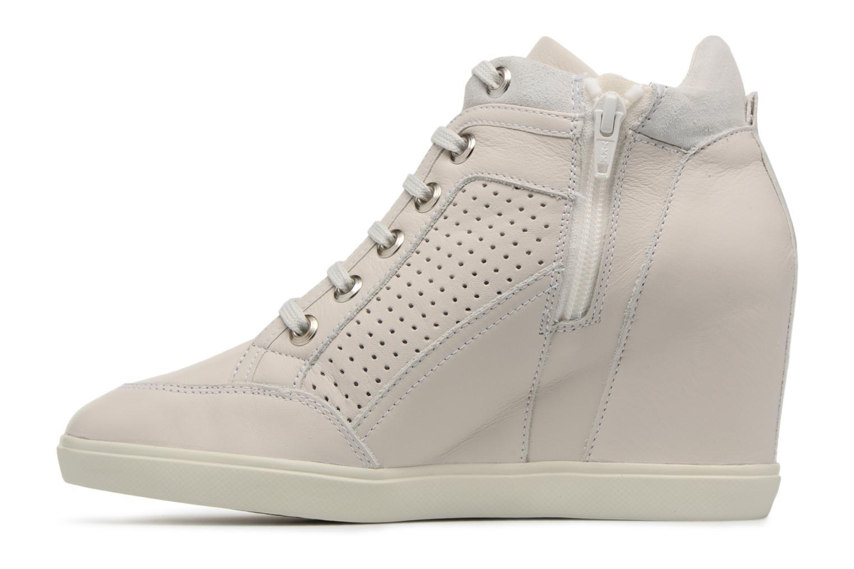 Sneakers Geox D ELENI C D7267C Beige voorkant
