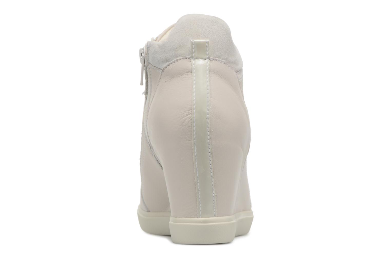 Sneakers Geox D ELENI C D7267C Beige rechts