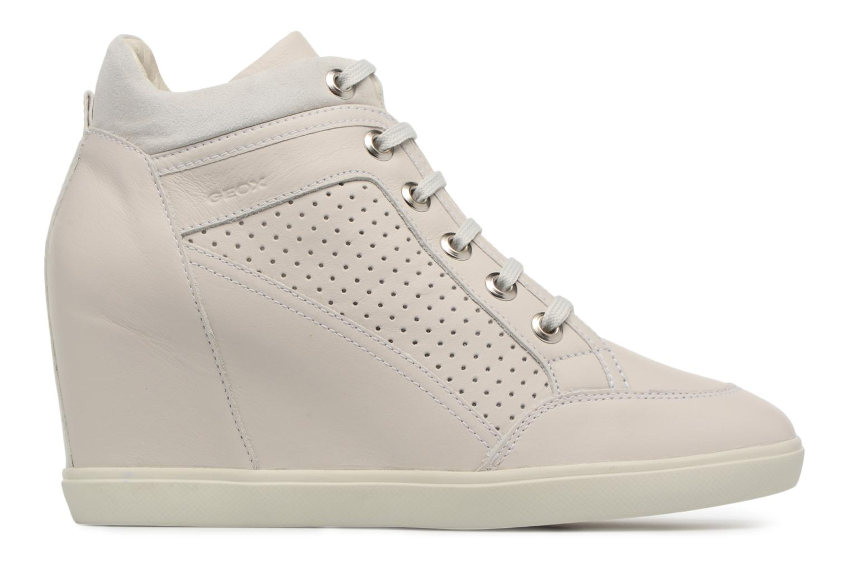 Sneakers Geox D ELENI C D7267C Beige achterkant