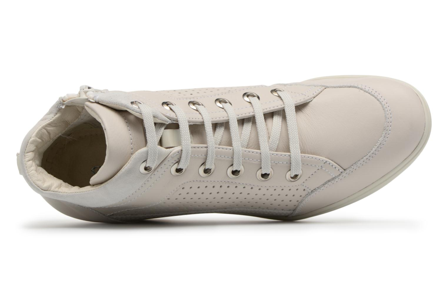 Trainers Geox D ELENI C D7267C Beige view from the left