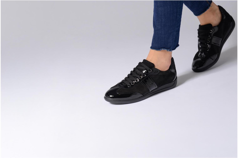Sneakers Geox D MYRIA A D7268A Grigio immagine dal basso