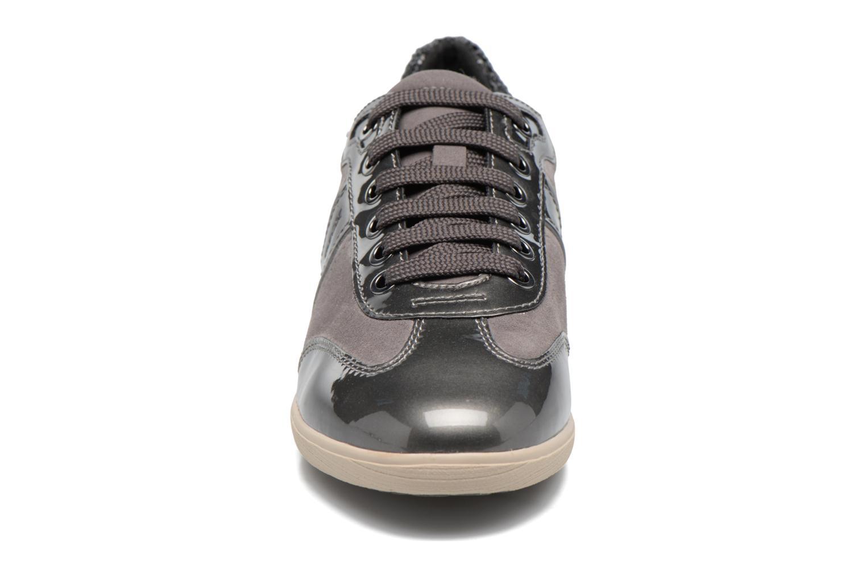 Baskets Geox D MYRIA A D7268A Gris vue portées chaussures
