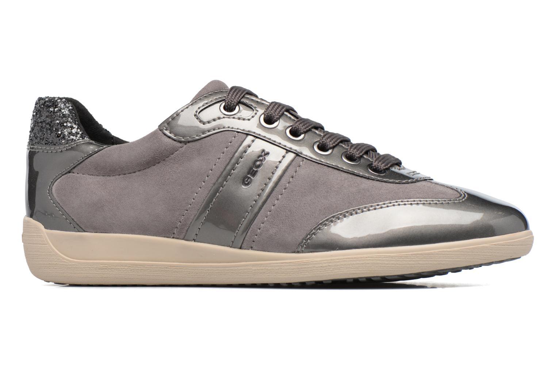 Sneakers Geox D MYRIA A D7268A Grijs achterkant