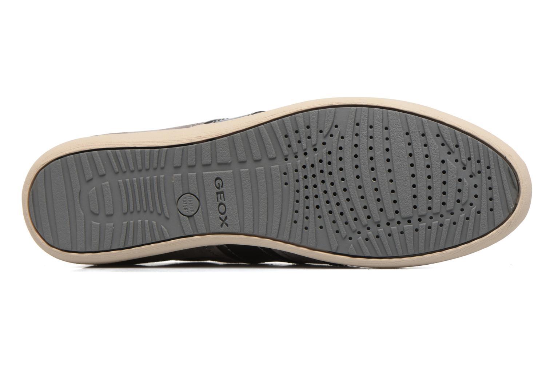 Sneakers Geox D MYRIA A D7268A Grigio immagine dall'alto
