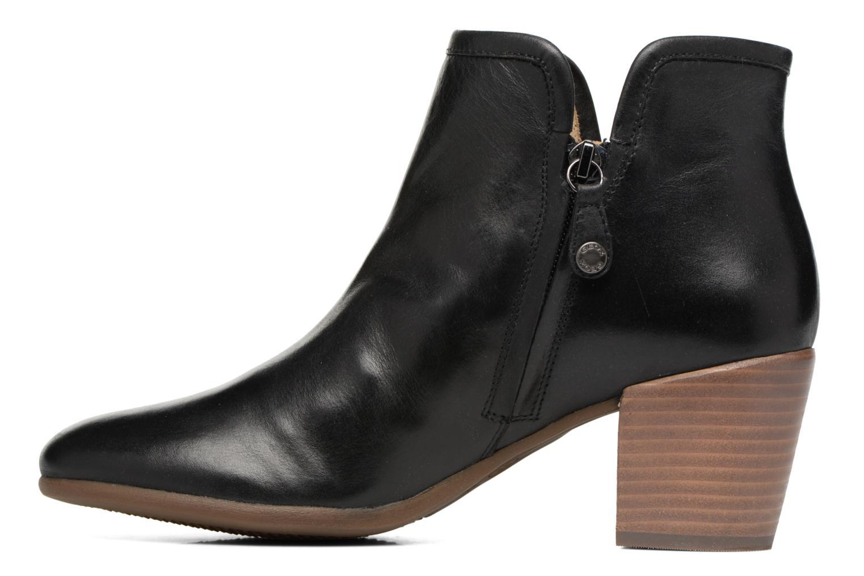 Bottines et boots Geox D LUCINDA B D7270B Noir vue face