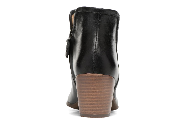 Bottines et boots Geox D LUCINDA B D7270B Noir vue droite