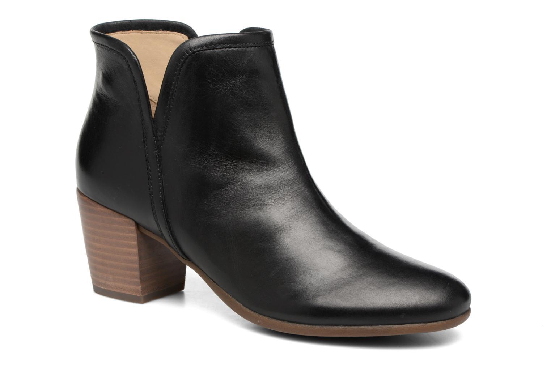 Bottines et boots Geox D LUCINDA B D7270B Noir vue détail/paire