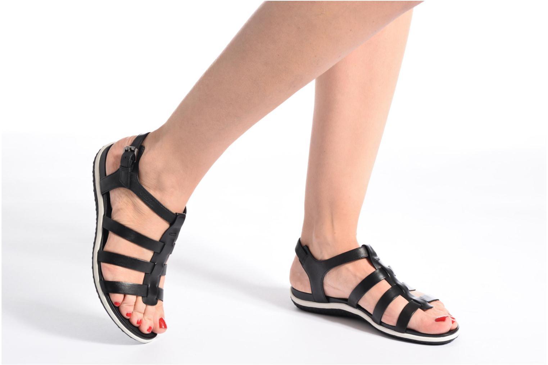Sandales et nu-pieds Geox D SAND.VEGA A D72R6A Beige vue bas / vue portée sac