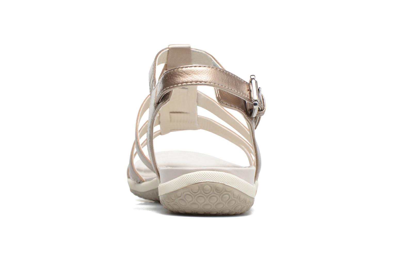 Sandales et nu-pieds Geox D SAND.VEGA A D72R6A Beige vue droite