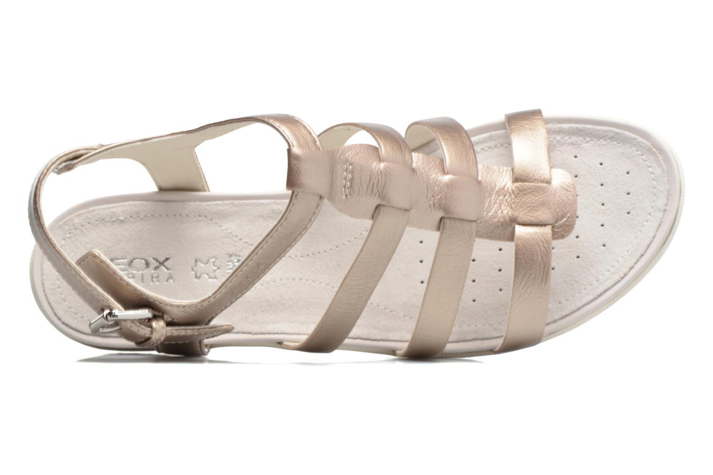Sandales et nu-pieds Geox D SAND.VEGA A D72R6A Beige vue gauche
