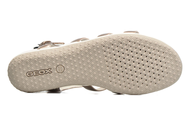 Sandales et nu-pieds Geox D SAND.VEGA A D72R6A Beige vue haut