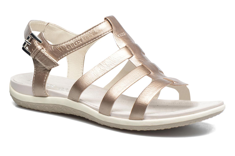 Sandales et nu-pieds Geox D SAND.VEGA A D72R6A Beige vue détail/paire