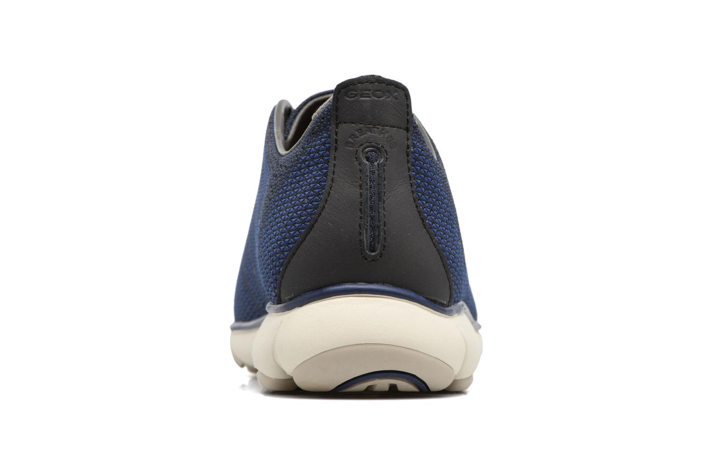 Baskets Geox U NEBULA B U64D7B Bleu vue droite