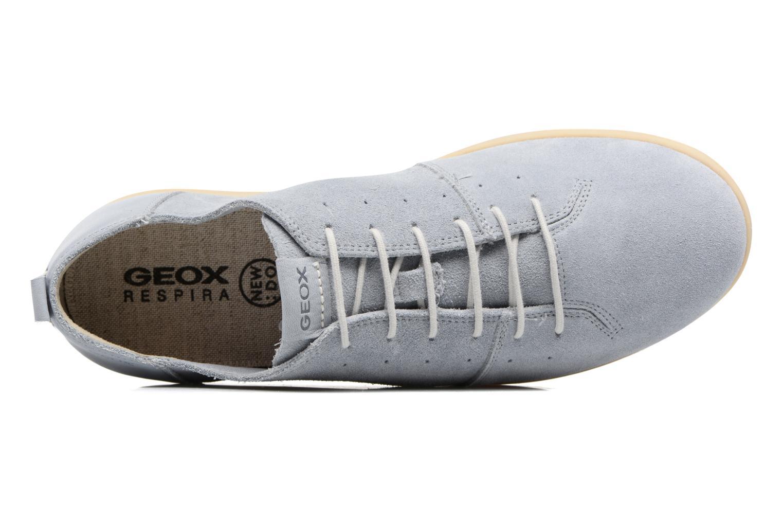 Baskets Geox U NEW DO C U720QC Bleu vue gauche