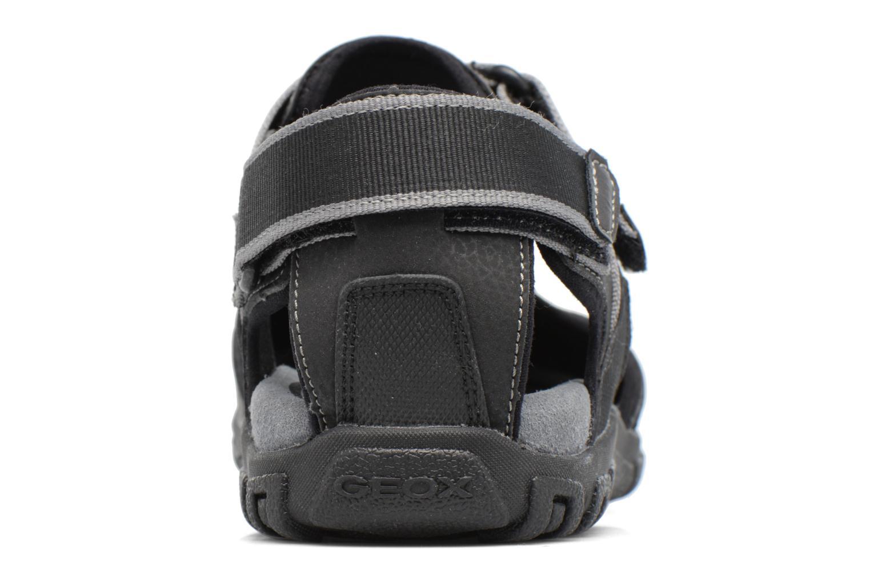 Sandales et nu-pieds Geox U S.STRADA A U7224A Noir vue droite