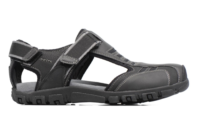 Sandales et nu-pieds Geox U S.STRADA A U7224A Noir vue derrière