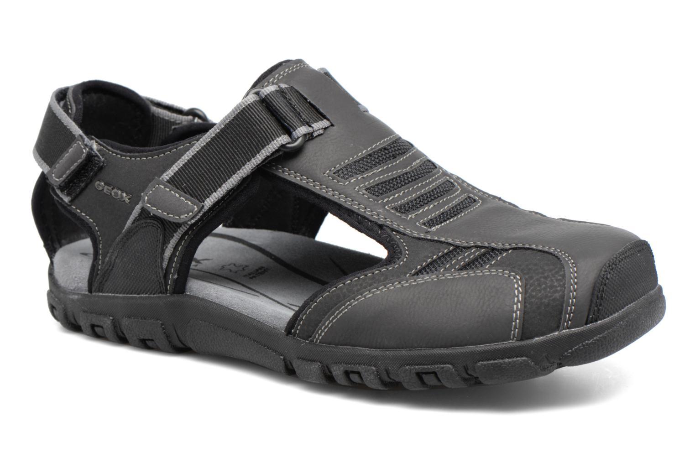 Sandales et nu-pieds Geox U S.STRADA A U7224A Noir vue détail/paire