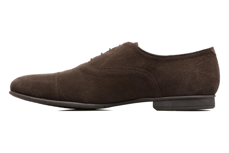 Chaussures à lacets Geox U WILBURG B U722SB Marron vue face