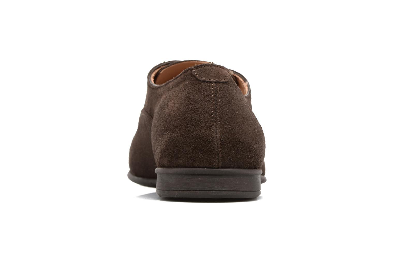 Chaussures à lacets Geox U WILBURG B U722SB Marron vue droite