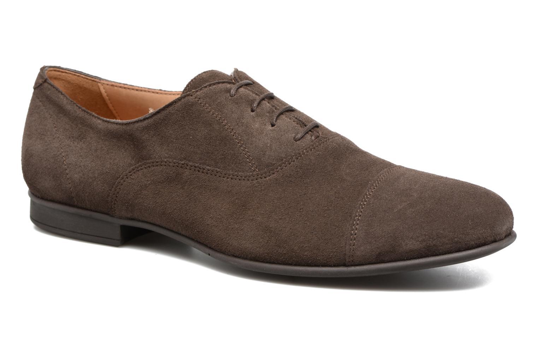 Chaussures à lacets Geox U WILBURG B U722SB Marron vue détail/paire