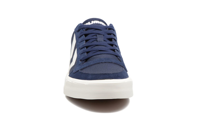 Baskets Hummel Stadil Rmx Low Bleu vue portées chaussures
