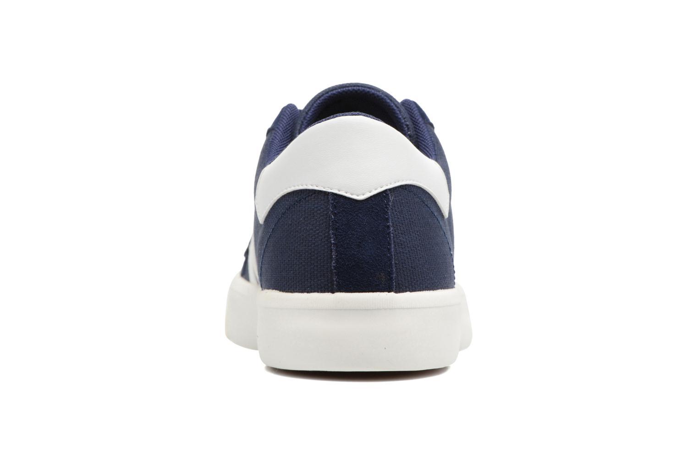 Baskets Hummel Stadil Rmx Low Bleu vue droite