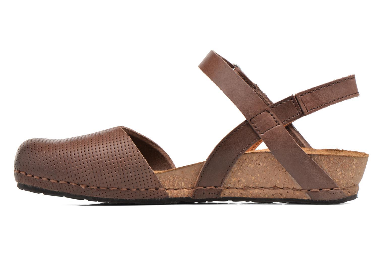 Sandales et nu-pieds Art Pompei 739 Marron vue face