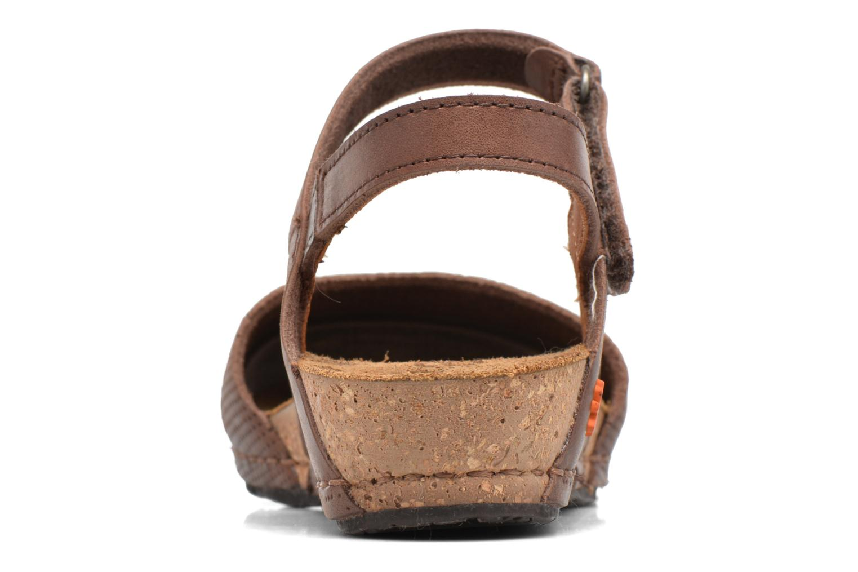 Sandales et nu-pieds Art Pompei 739 Marron vue droite