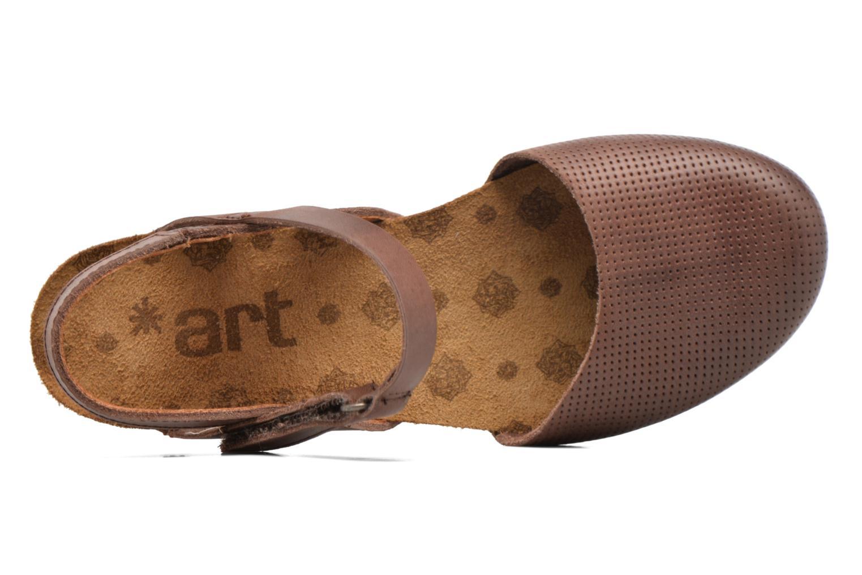 Sandales et nu-pieds Art Pompei 739 Marron vue gauche