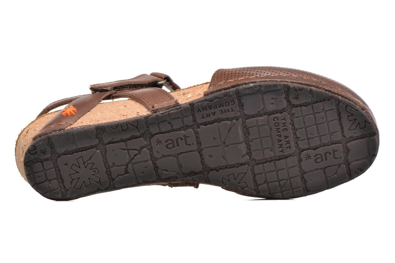 Sandales et nu-pieds Art Pompei 739 Marron vue haut