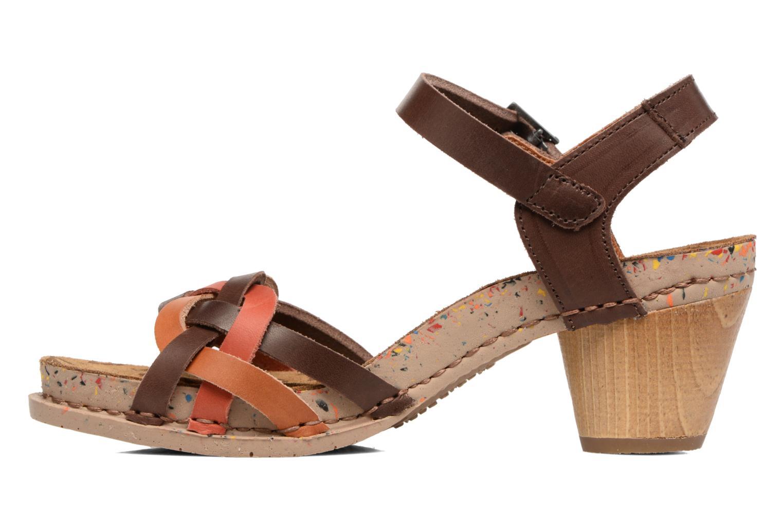 Sandales et nu-pieds Art I Laugh 1110 Multicolore vue face