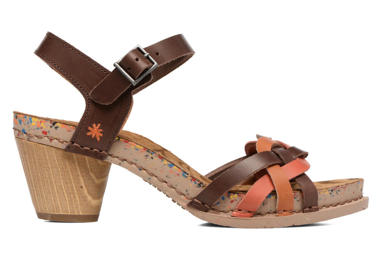 Sandales et nu-pieds Art I Laugh 1110 Multicolore vue derrière