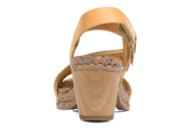 Sandales et nu-pieds Art I Laugh 1111 Jaune vue droite