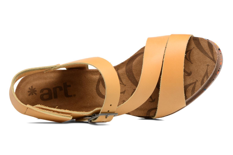 Sandales et nu-pieds Art I Laugh 1111 Jaune vue gauche