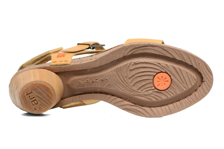 Sandales et nu-pieds Art I Laugh 1111 Jaune vue haut