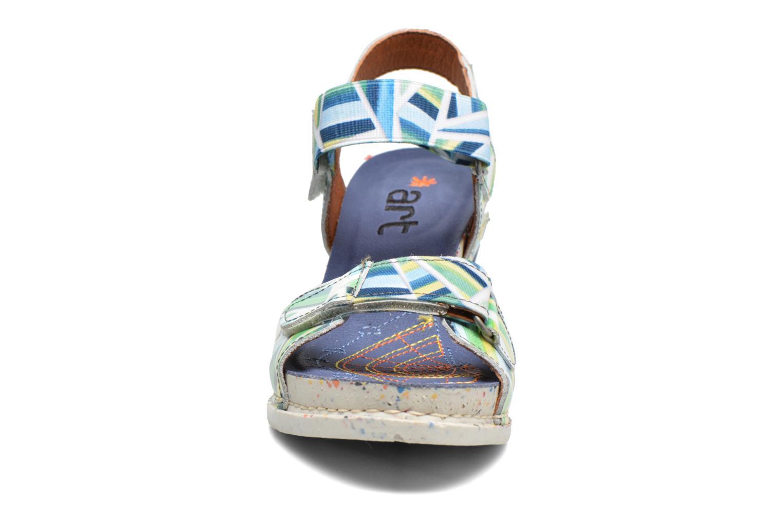 Sandales et nu-pieds Art I Enjoy 1121 Multicolore vue portées chaussures