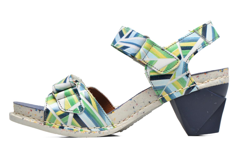 Sandales et nu-pieds Art I Enjoy 1121 Multicolore vue face