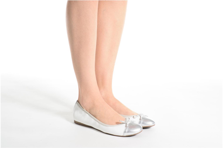 Ballerinaer Tamaris Aubépine Hvid se forneden
