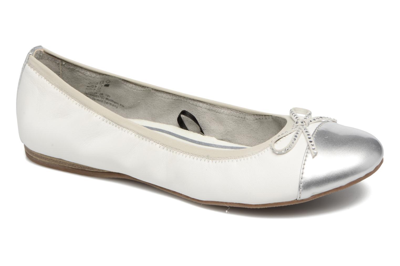 Ballerinaer Tamaris Aubépine Hvid detaljeret billede af skoene