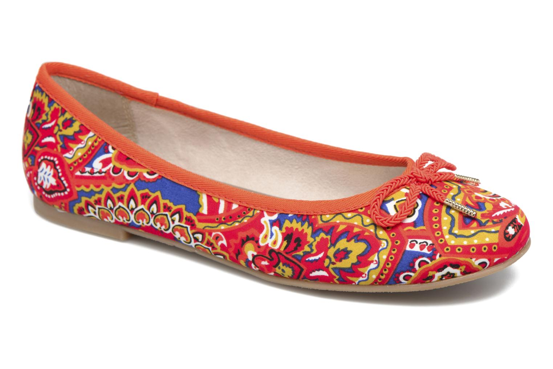 Ballerines Tamaris Dahlia Multicolore vue détail/paire