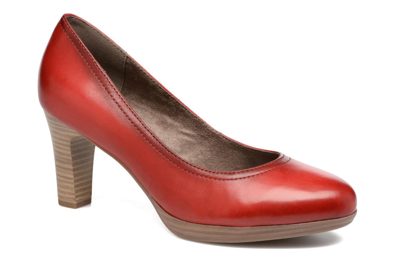 Escarpins Tamaris Fuchsia Rouge vue détail/paire
