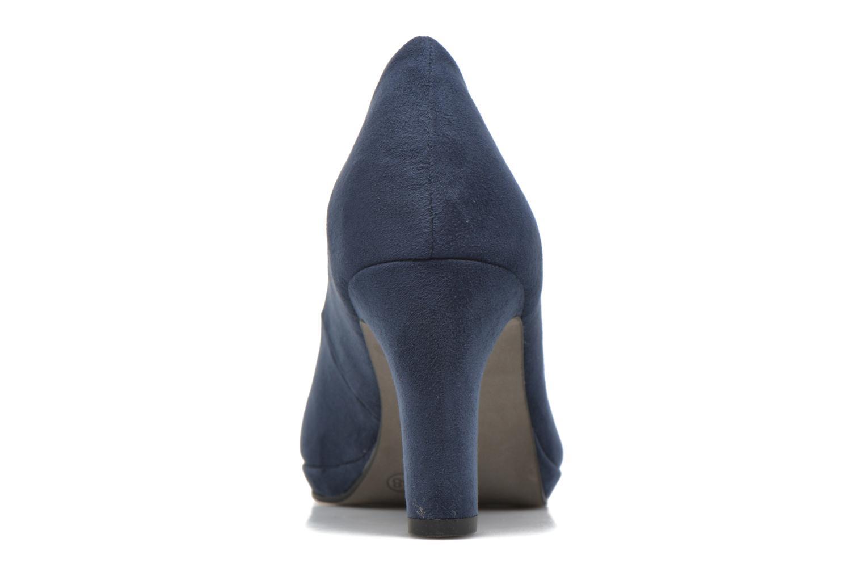 Escarpins Tamaris Hellébore Bleu vue droite