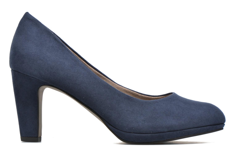 High heels Tamaris Hellébore Blue back view