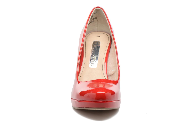 Escarpins Tamaris Jacinthe Rouge vue portées chaussures