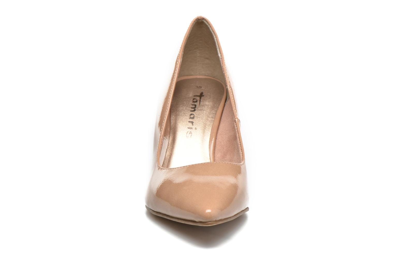 Høje hæle Tamaris Kaly Beige se skoene på
