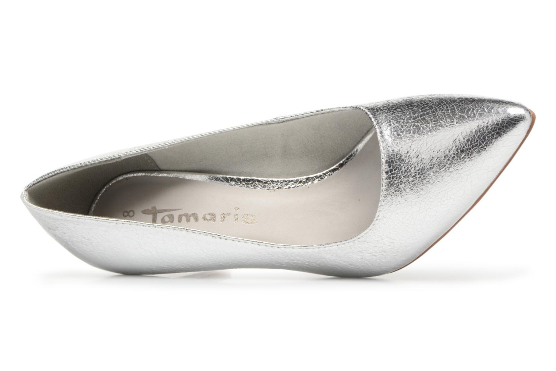 Høje hæle Tamaris Kaly Sølv se fra venstre