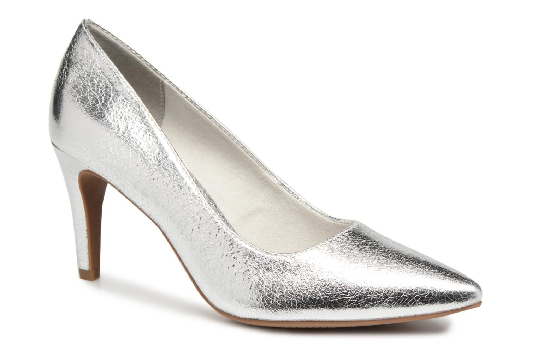 High heels Tamaris Kaly Silver detailed view/ Pair view